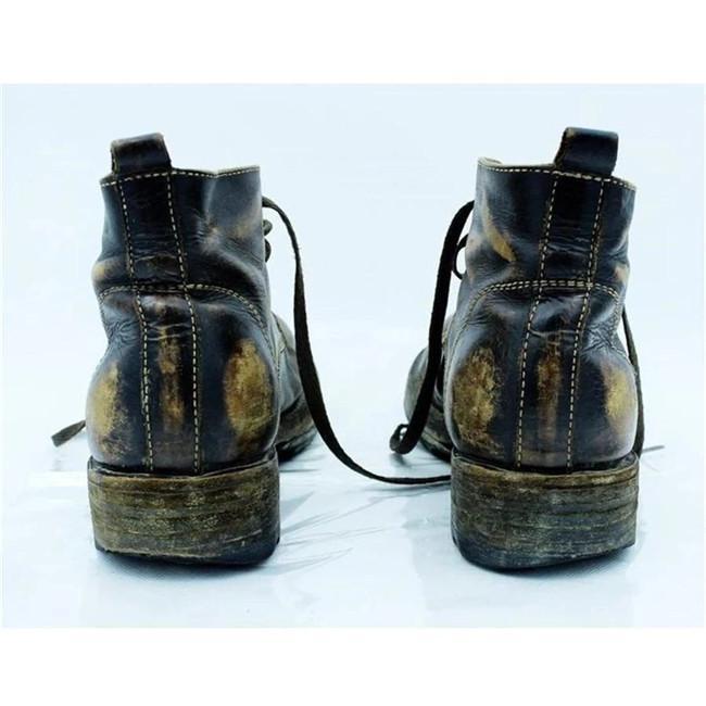 Men's Vintage Leather Ankle Boots