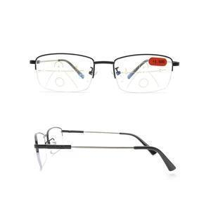 Memory Titanium Anti-blue Light Intelligent Zoom Far And Near Dual-use Reading Glasses