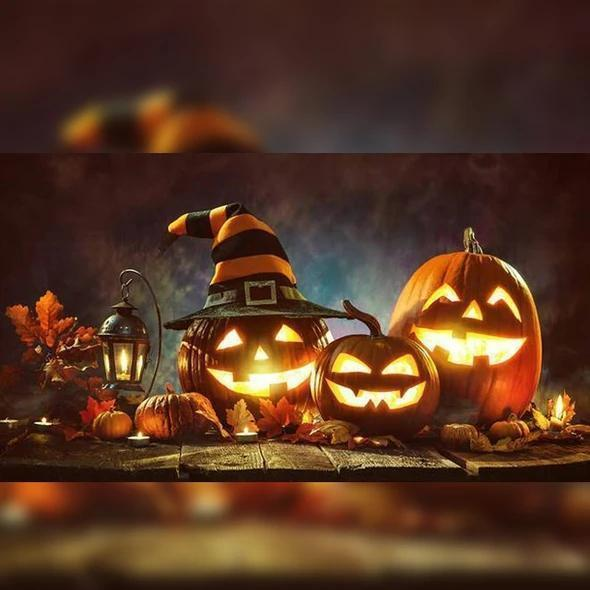 HOT SALE! HALLOWEEN SOUND-ACTIVATED PUMPKIN