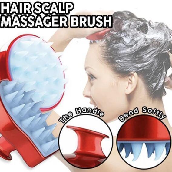 3-In-1 Scalp Massage LUSH Shampoo Brush