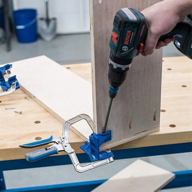 90° Angle Woodworking Clamp