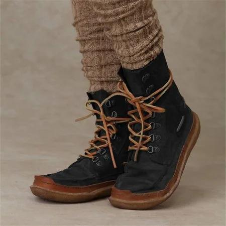 Date Buckle Winter Boots