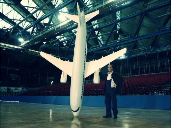 Super Cool Inflatable Toy Airplane (Best Gift For Kids)