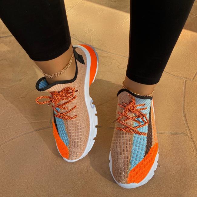 Fuchsia Multi Sneaker
