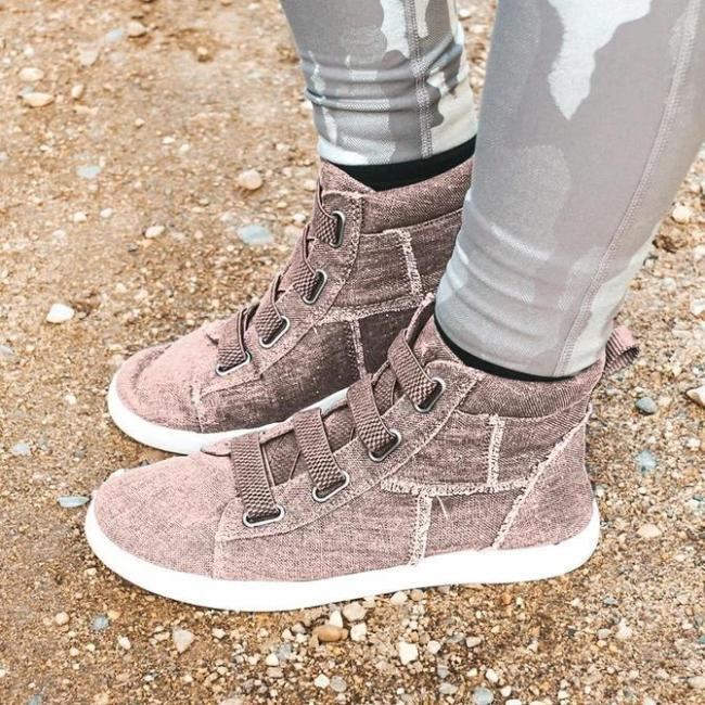 All Season Flat Heel Sneakers