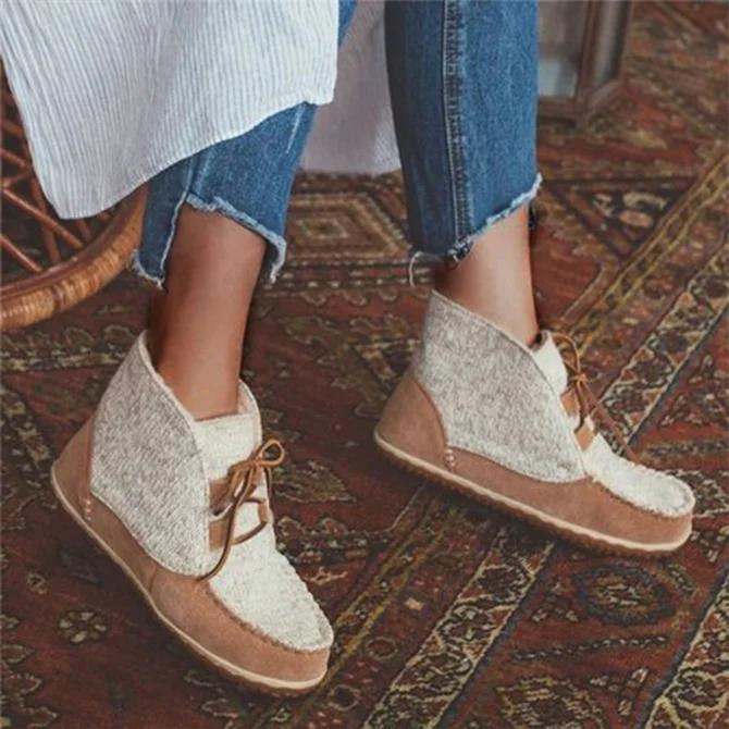 Casual Flat Heel Loafers
