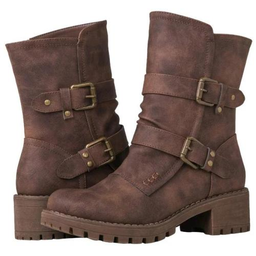 Outdoor Zipper Winter Boots