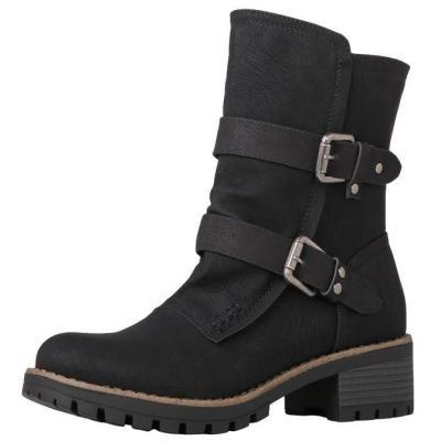 Outdoor Zipper Winter Boots