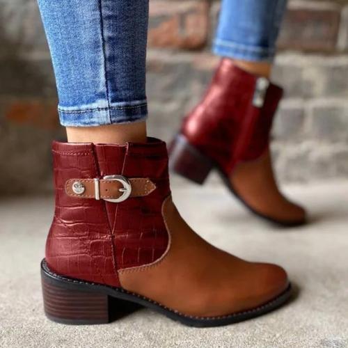 Dress Winter Split Joint Boots