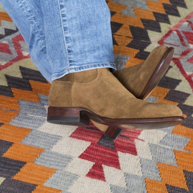 Classic Handcrafted Waterproof Suede Leather Boot
