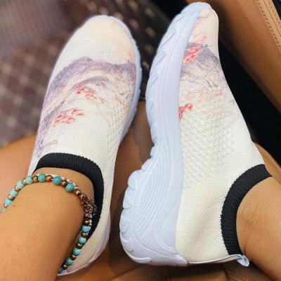 Hiking Flat Heel All Season Sneakers