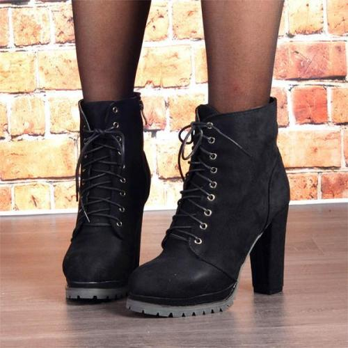 Women's Fashion Heel Boot