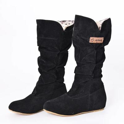Cloth Spring/fall Daily Boots
