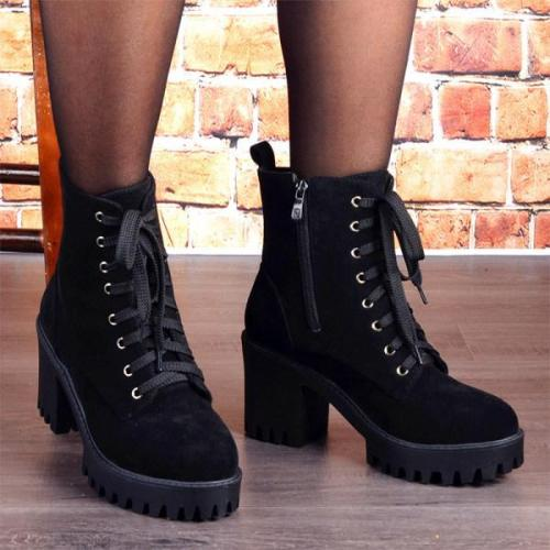 Women's Fashion Heel Boots