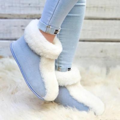 Women's Fashion Fluorescent Double-Sided Plush Soft Short Boots