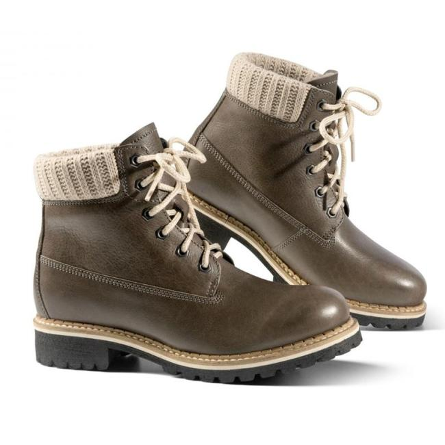 Fashion Mid-tube Low-heel Autumn and Winter Boots