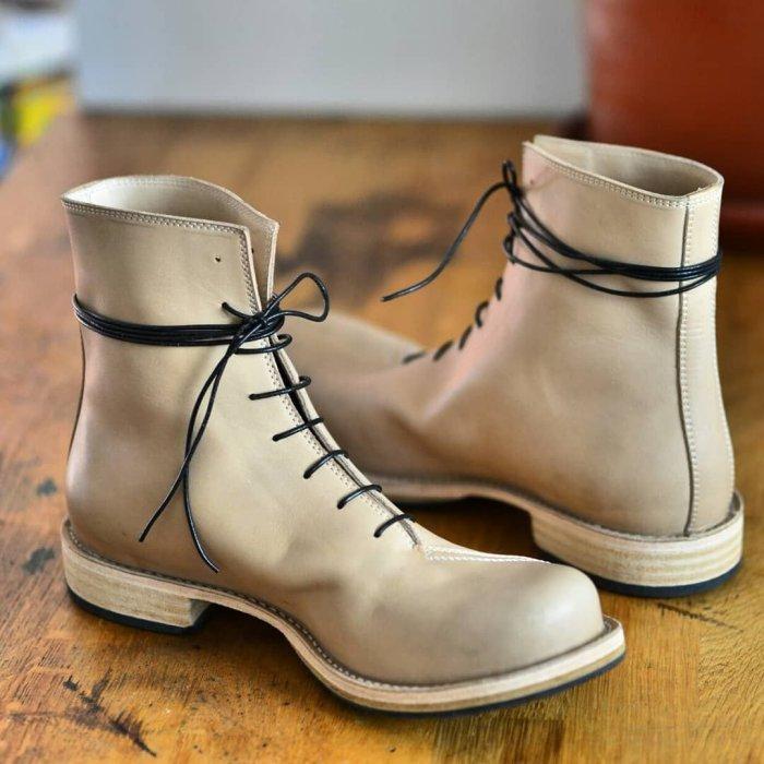 Men's Cowboy Ankle Boots