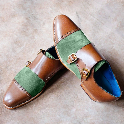 Fashion New Men's Patchwork Shoes