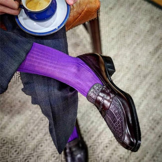Men's Color Design Slip on Shoes