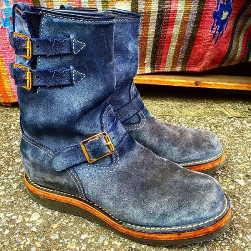 Suede Engineer Boot
