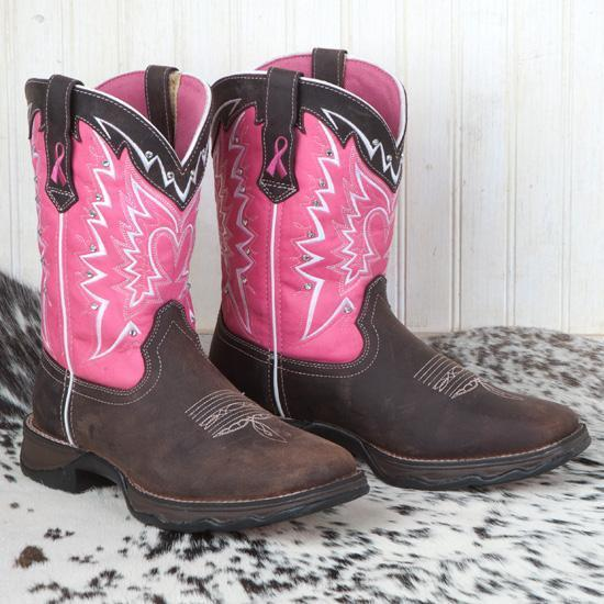 Women's  Pink Ribbon Boots