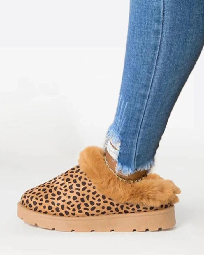 Winter  Fur Comfy Sole Boots