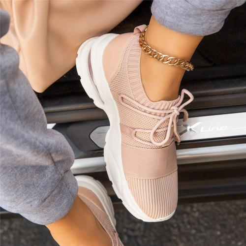 Slip-On Lace-Up All Season Padded Insole Sneakers