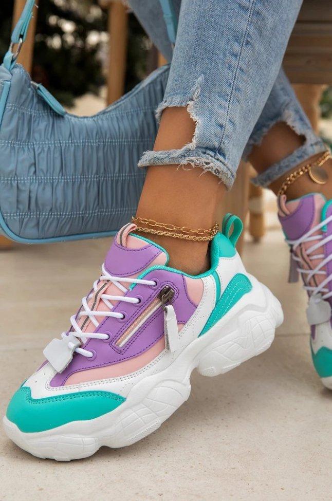 Daily Block Heel Sneakers