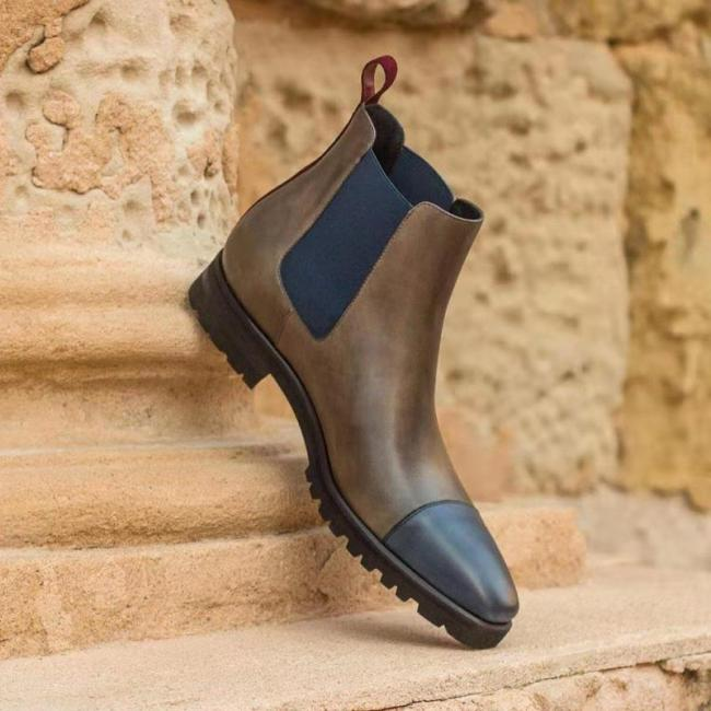 Casual Solid Color Boots