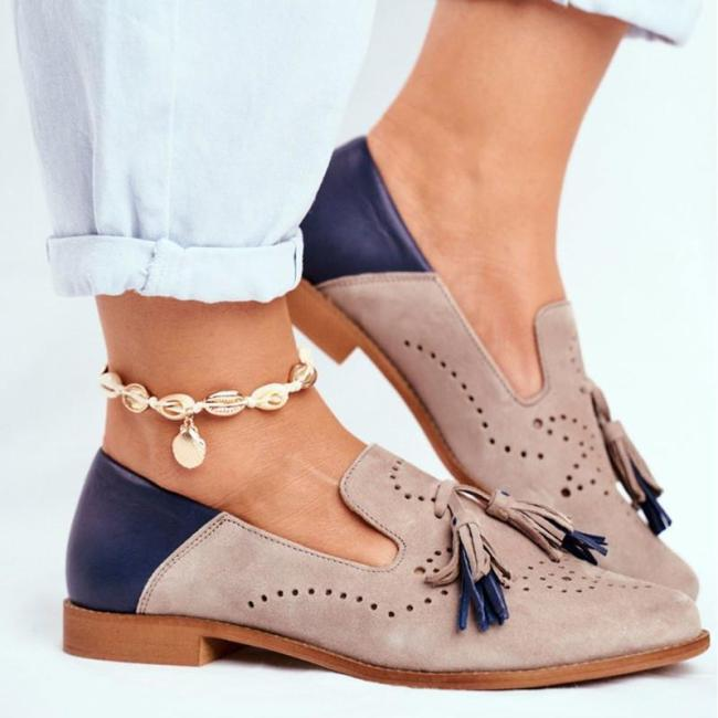 2021 Women Breathable Suede Loafers