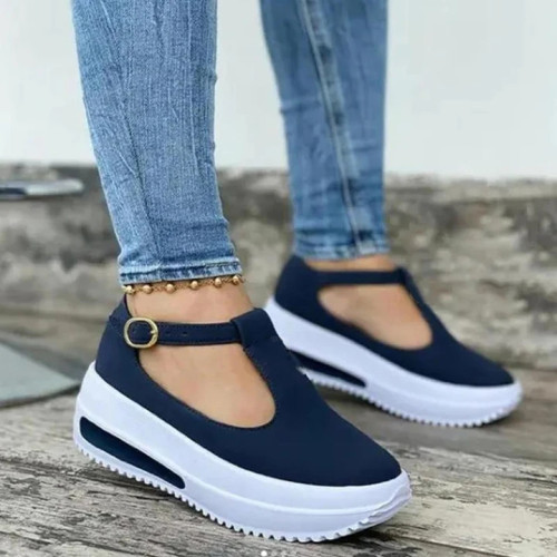 Women's Fashion Platform T-Shaped Design Casual Sandals
