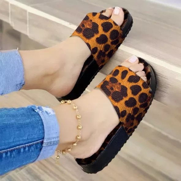Women's Fashion Plaid Comfortable Casual Slippers