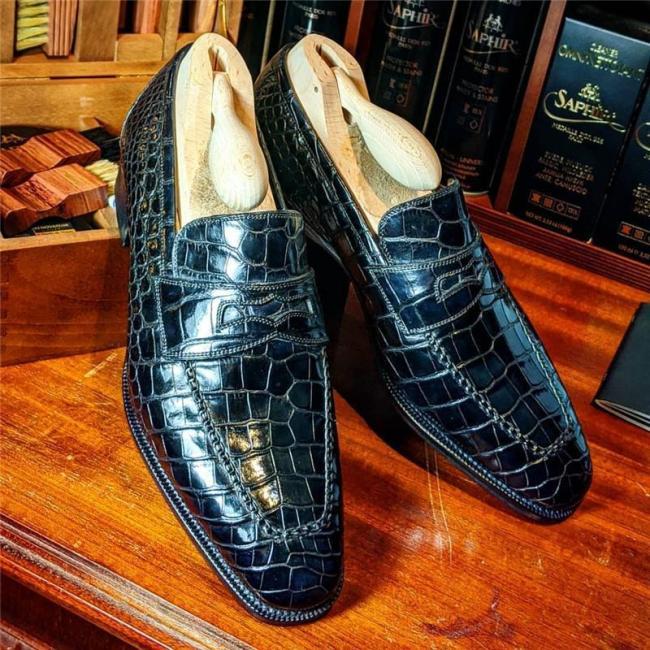 Crocodile Alligator Formal Shoes