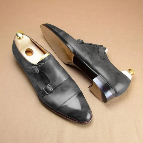 PU Leather Flat Formal Shoes
