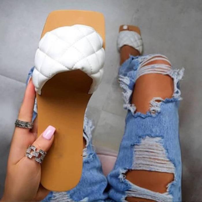 Women's Comfy Transparent PVC Slippers