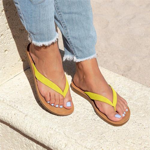 Women Slip on Thong Sandals