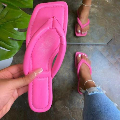 Women's Fashionable Airy Large Size Flip Flops
