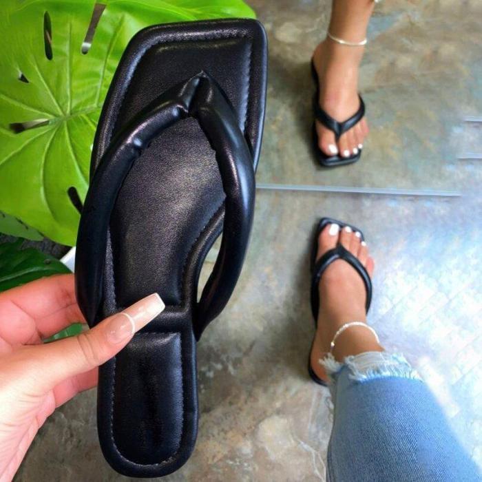Women's Fashionable Airy Large Size Flip Flops