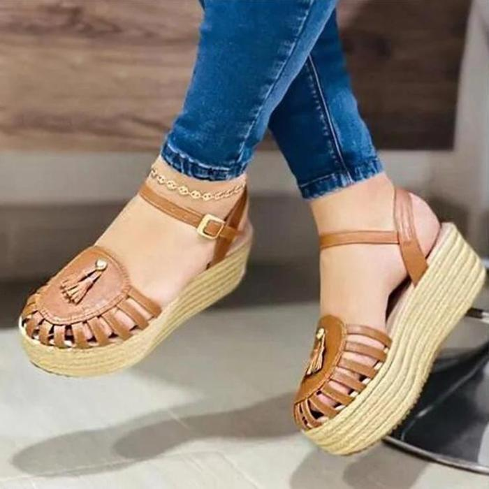 Casual Slope Heel Fashion Sandals