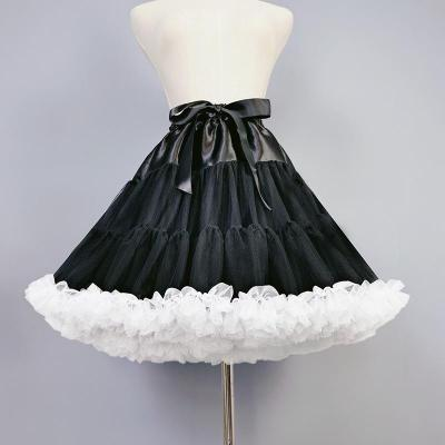 Women tulle Petticoat, Lolita Petticoat ,Short Underskirt ,Cosplay Party Dress Petticoat, Ballet Tutu Skirt