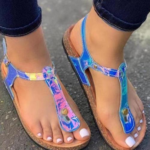 Women's Beach Roman Flat Bottom Sandals