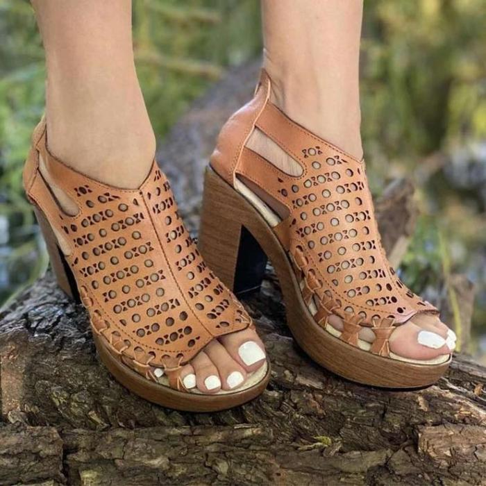 Women's Open Toe High Heel Sandals