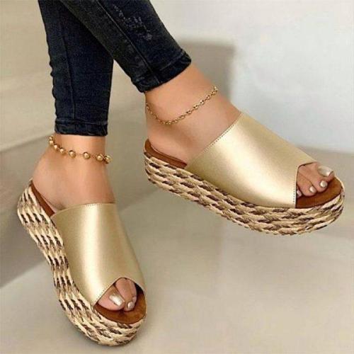 Women's Wedge High Heel Summer Sandals