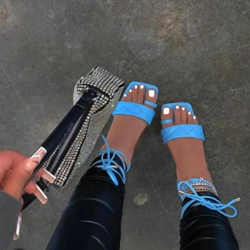 Lace-up All Over Toe Sandals