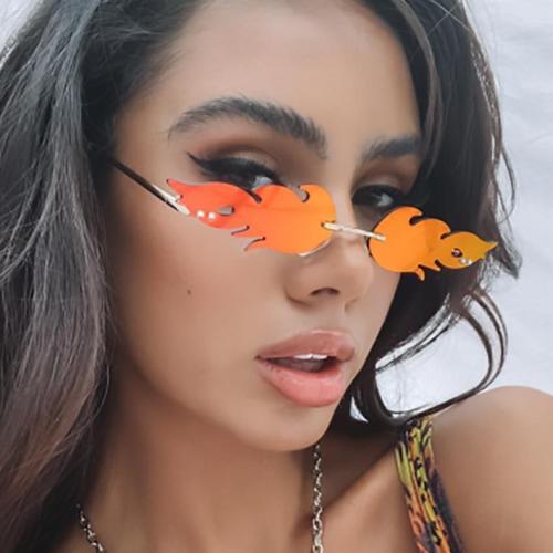 New Fire Flame Sunglasses