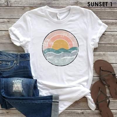 Summer Sunsets Tees