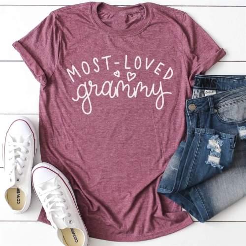 Most Loved Grandma Tee