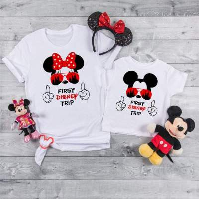 My 1st Disney Trip, First Disney Trip Shirts, Disney World Tees