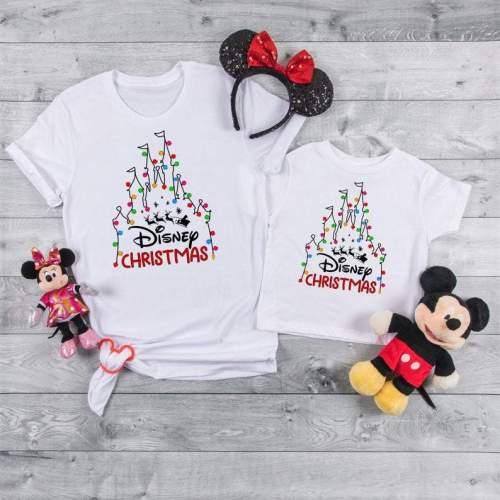 Magic Kingdom Christmas shirts 2021 Disney family shirts