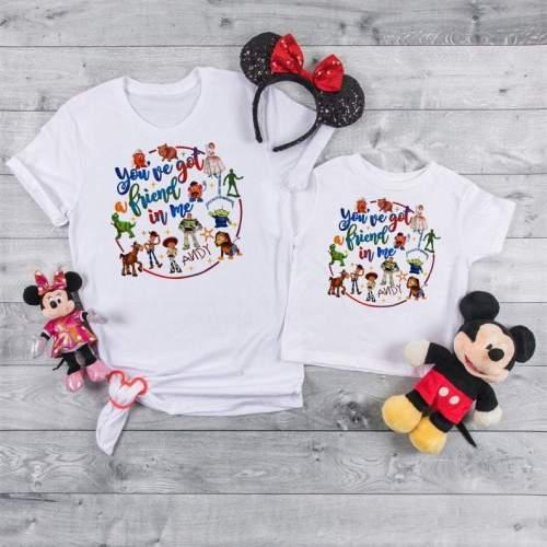 You got a friend in me, Toy Story Shirts, Toy Story Land, Disney Trip Shirts